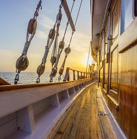 Book a sailing ship