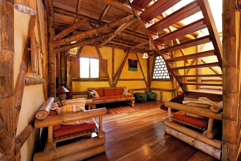 Garden House livingroom