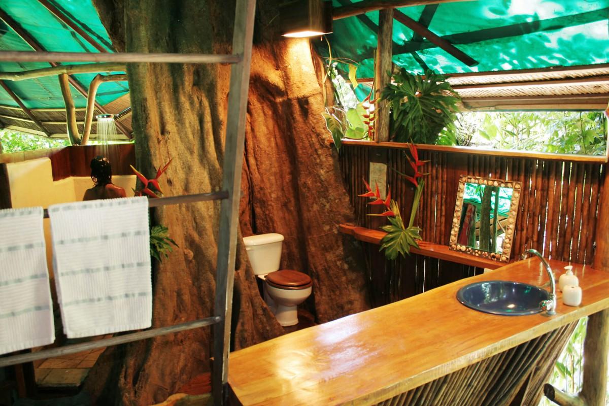 Tree House toilet