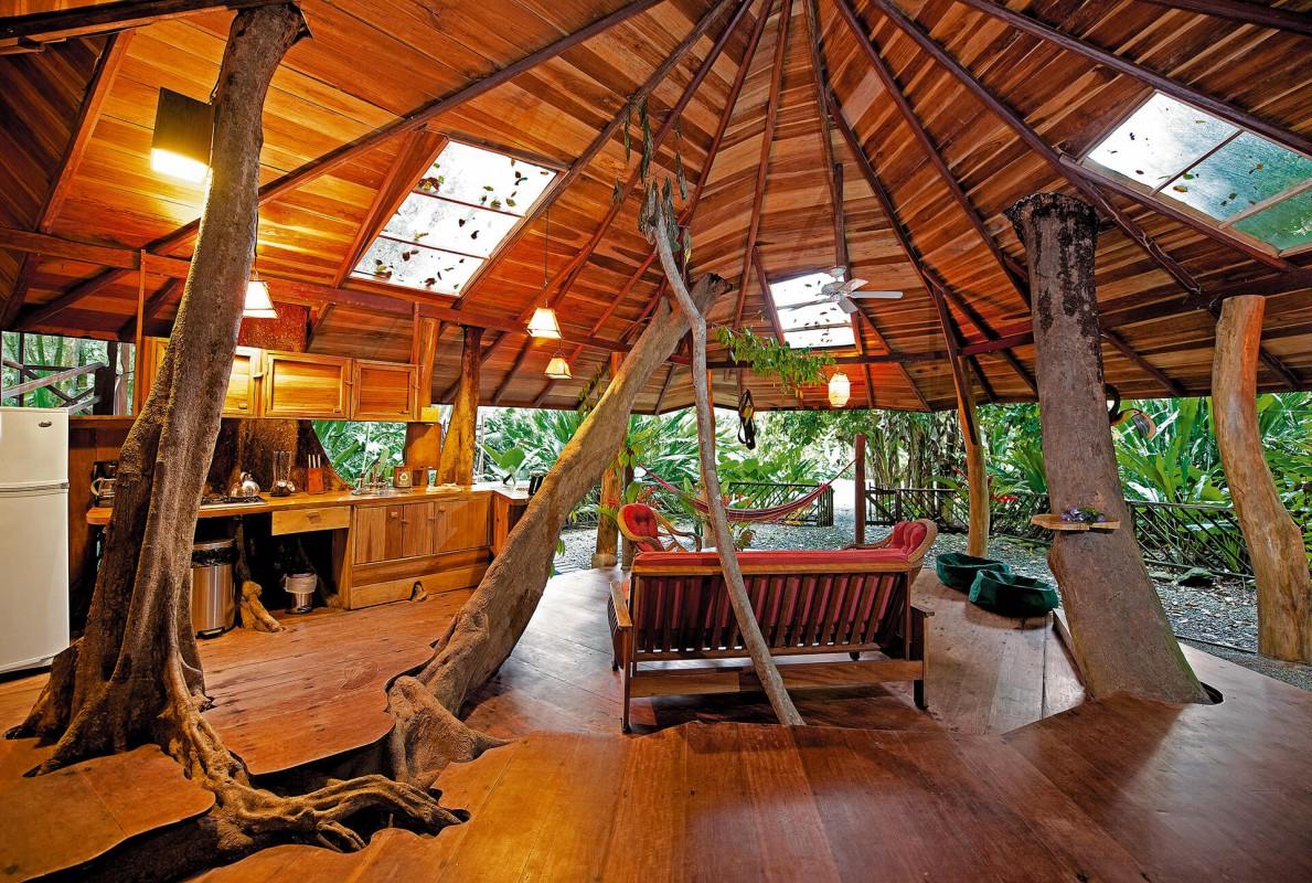 Tree House living room 5