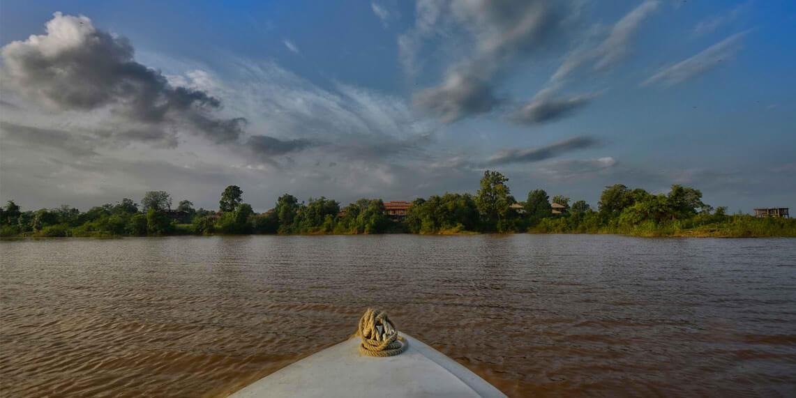 The Denwa River