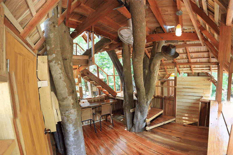 Take a look inside the Moon House