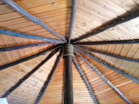 Round room ceiling