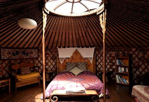 The Eastern yurt