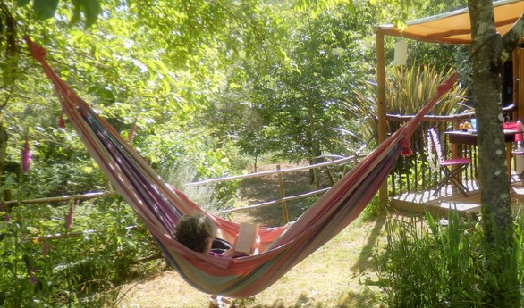 Hanging out, Eastern yurt
