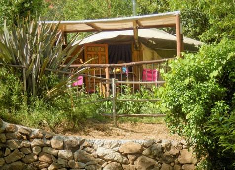 Eastern yurt