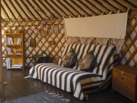 Eastern yurt sofa-bed