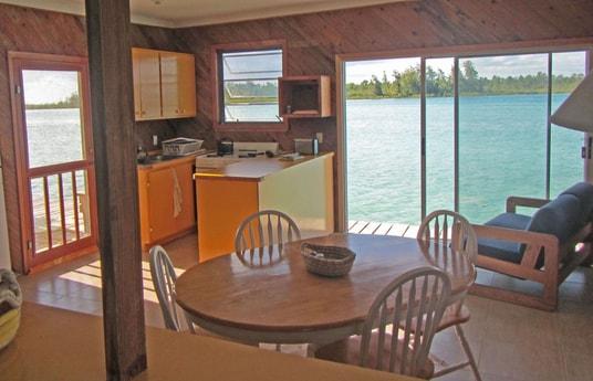 Great creekside kitchen