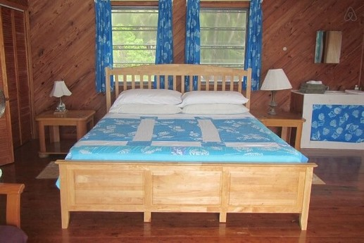 Sunset Point has comfortable beds.