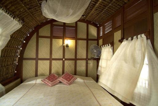 Comfortable separate bedrooms.