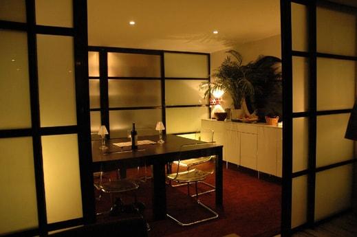 Stylish, Japanese-style interior