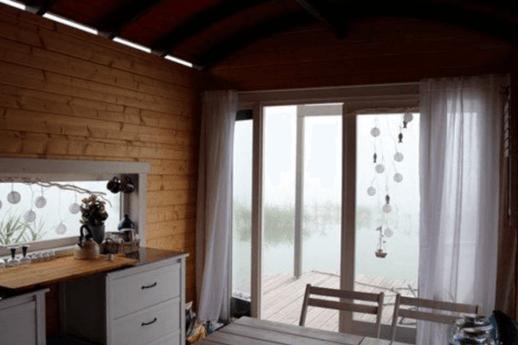 Rustic yet charming interiors
