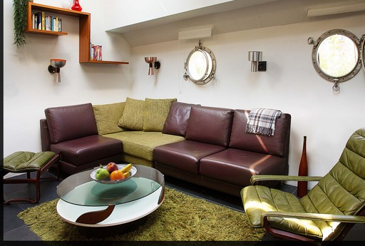 Living with sofa
