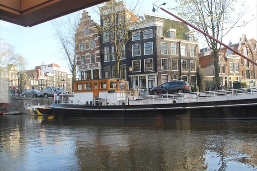 view from thw houseboat