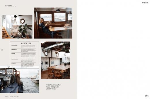 Interview in Elle Magazine Netherlands 2019