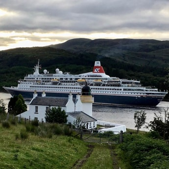Boudicca on its way to Fort William