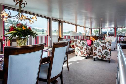 The Grand Victoria lounge area