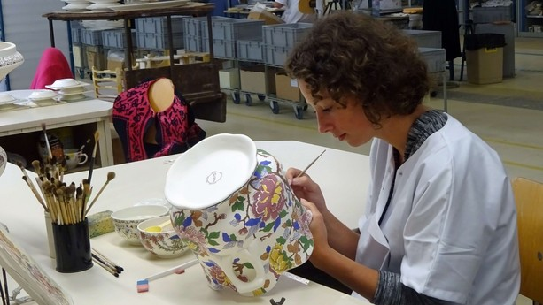 Gien pottery