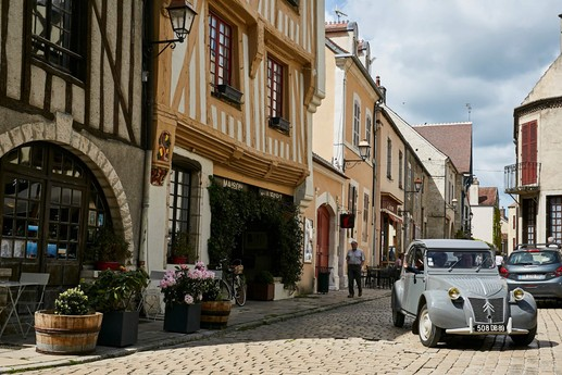 Medieval town of Noyers