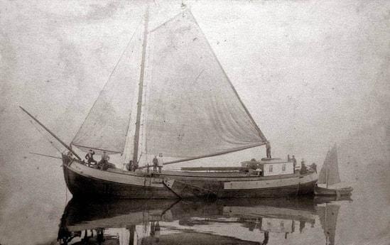 Sailing ship 654 Monnickendam photo 9