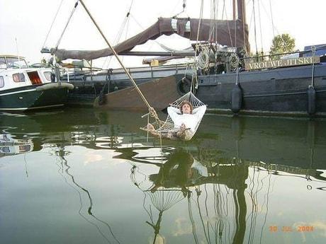 Sailing ship 664 Makkum photo 4
