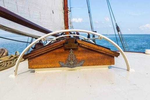Sailing ship 665 Makkum photo 2