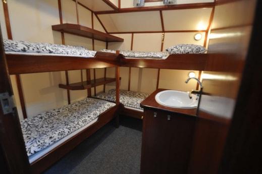 Four-person cabin