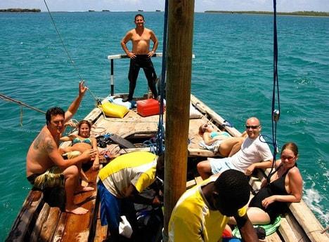 Great dive crew