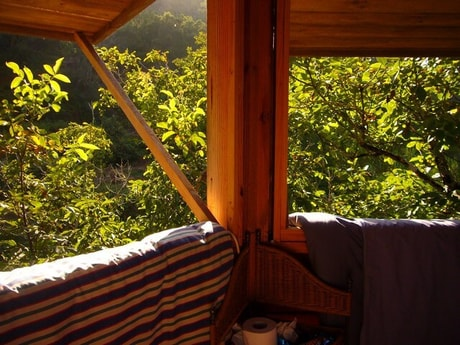 Beautiful views from the tree house