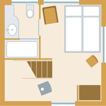 Tree house layout