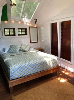 Master Bedroom with skylight ceiling, unforgettable views!