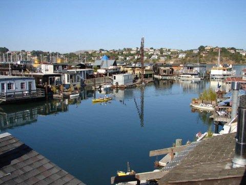 Houseboat rental Sausalito