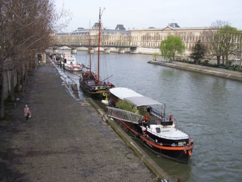 Houseboat rental Paris Paniche