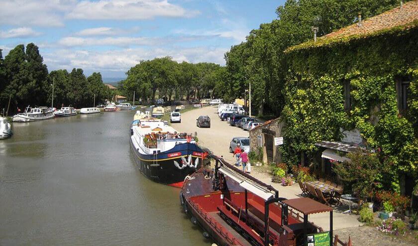 Boat trip on Canal du Midi