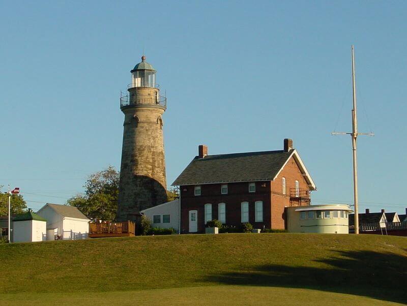 Fairport Lighthouse Lake Erie