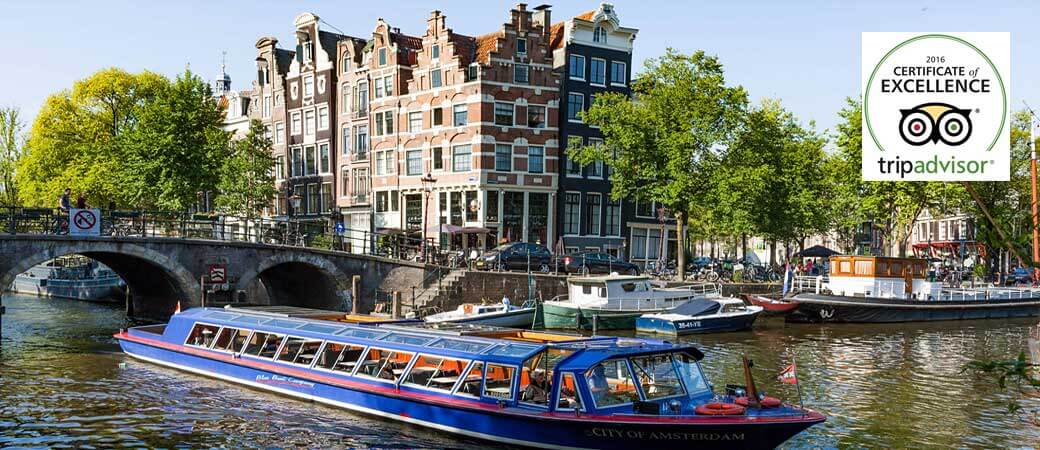 Blue Boat Canal Cruises Amsterdam