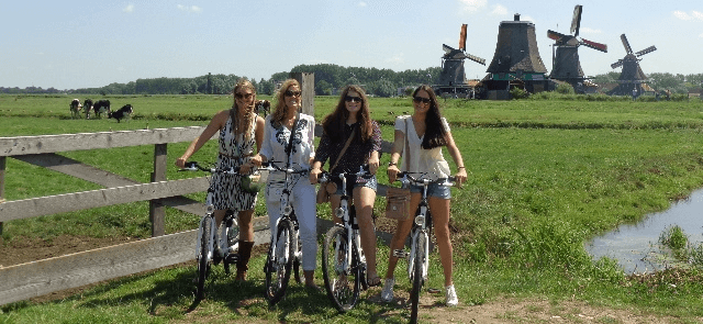 Zaanse schans bike tours