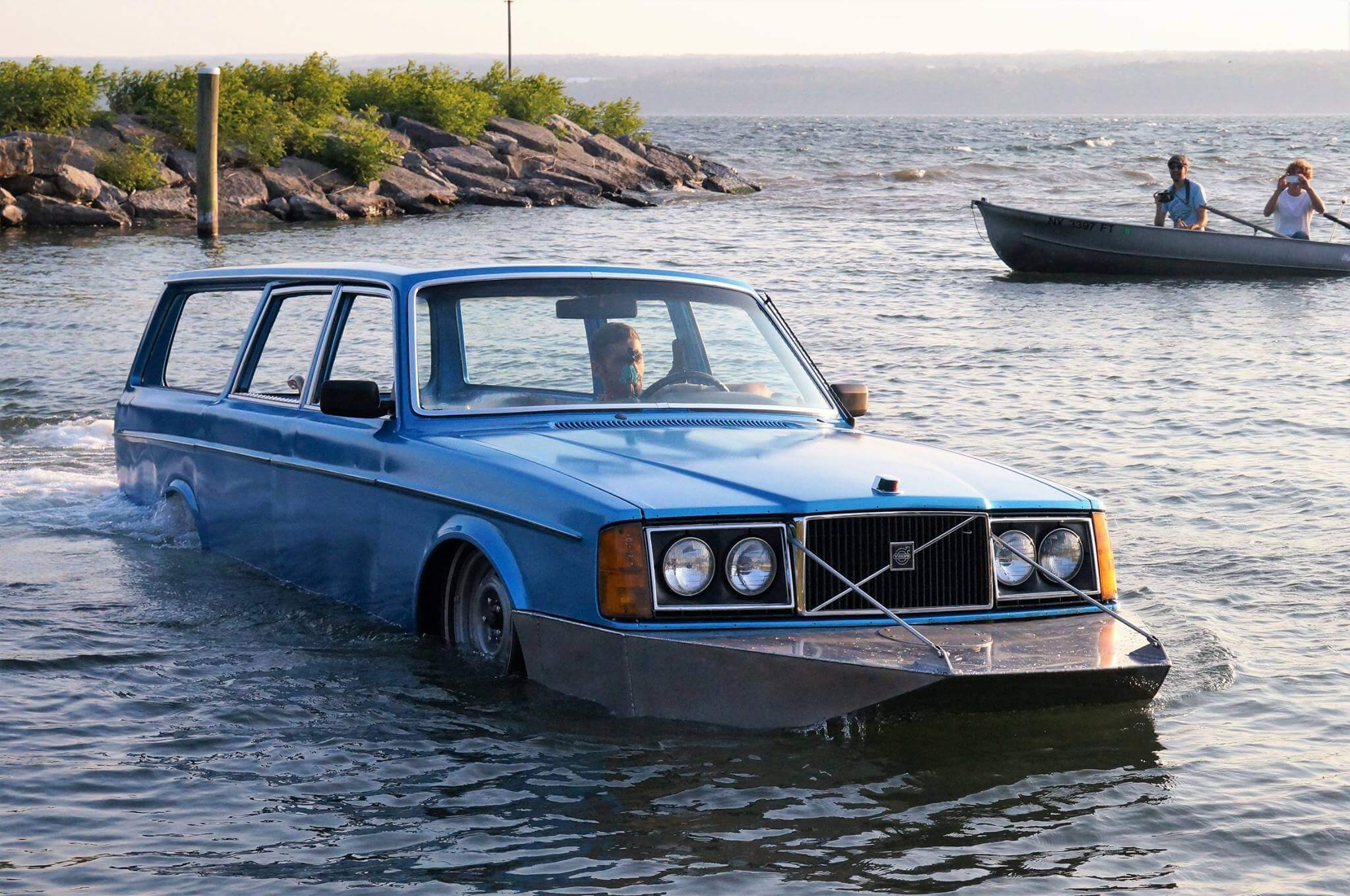 Amphibious Volvo station Wagon