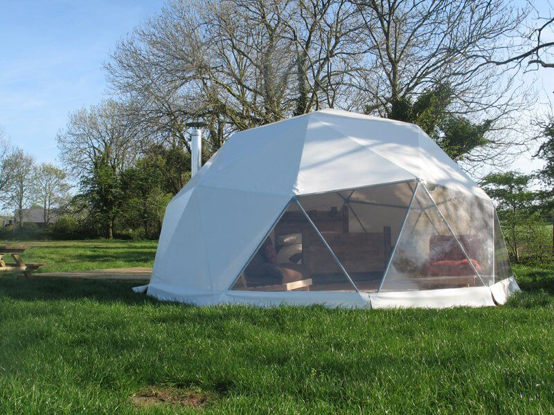 Glamping Dome in Nordwales
