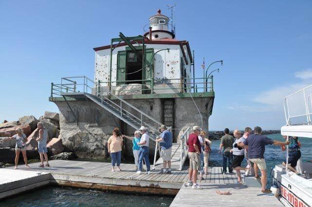 Ashtabula Lighthouse Lake Erie