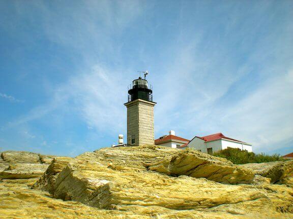 Beavertail Lighthouse foundation