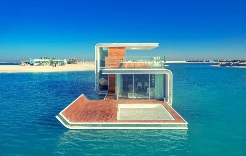 Houseboat Dubai Floating Seahorse