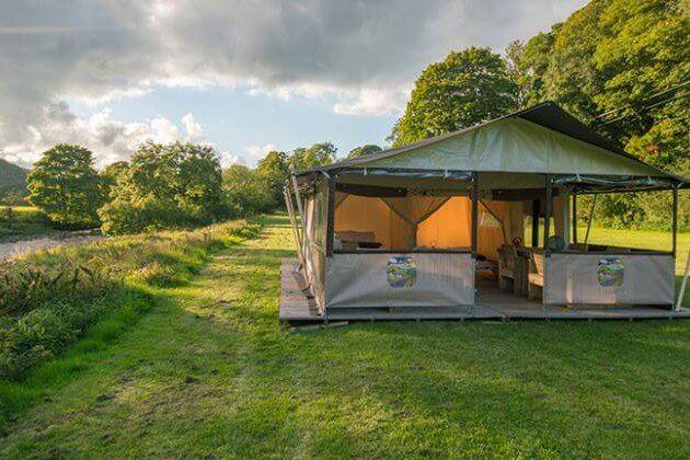 Glamping Safari Zelt Yorkshire