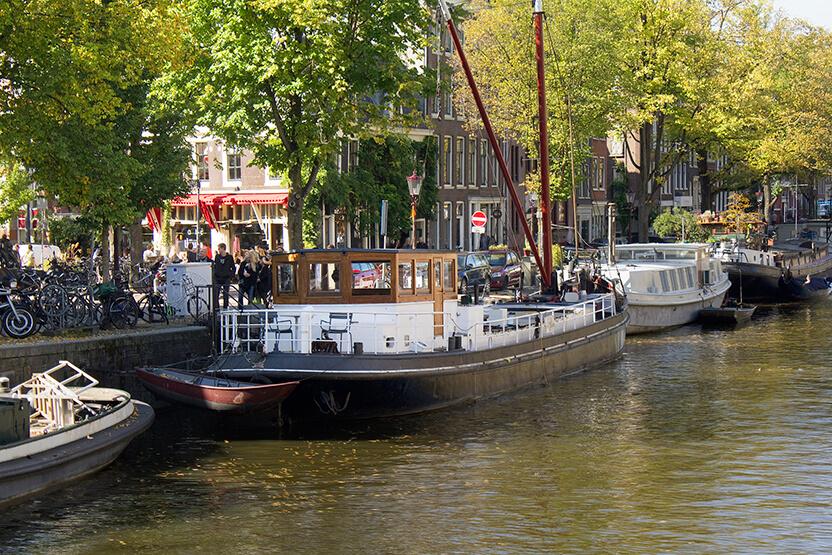 Location de péniche Amsterdam