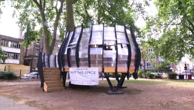 Hipster treehouse London