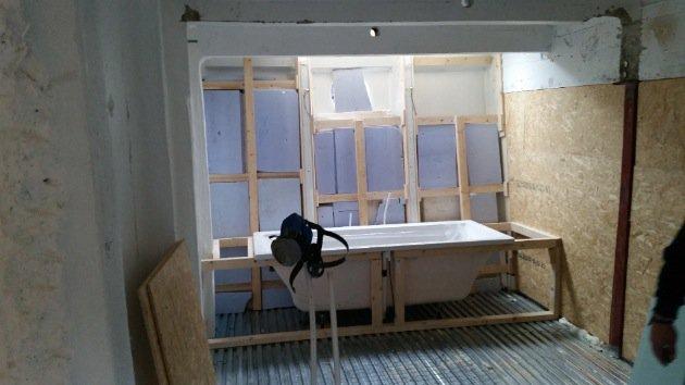 Houseboat Amsterdam Renovation Bathroom