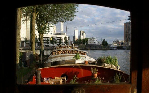 Houseboat in Rotterdam