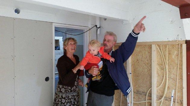 Houseboat Amsterdam Renovation kids room