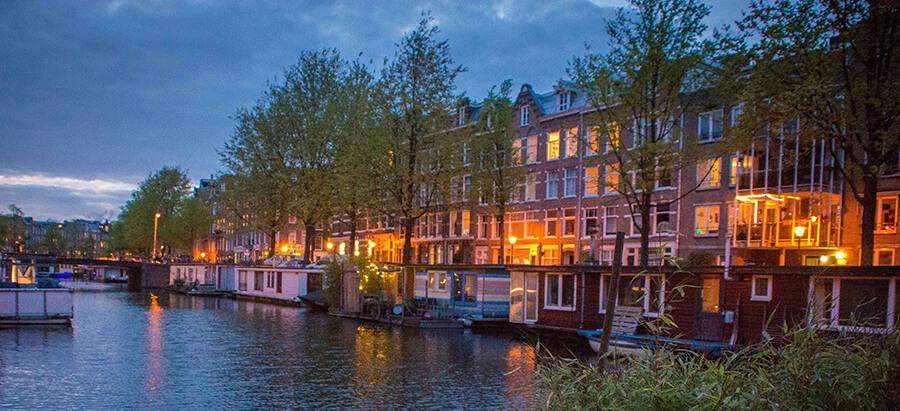 Amazing houseboat Amsterdam