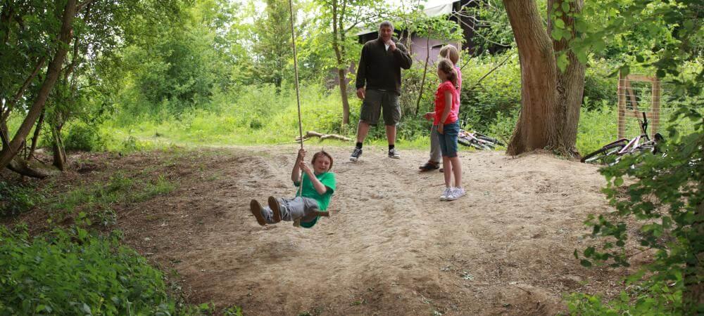 Des vacances de glamping est parfait pour des vacances avec des enfants